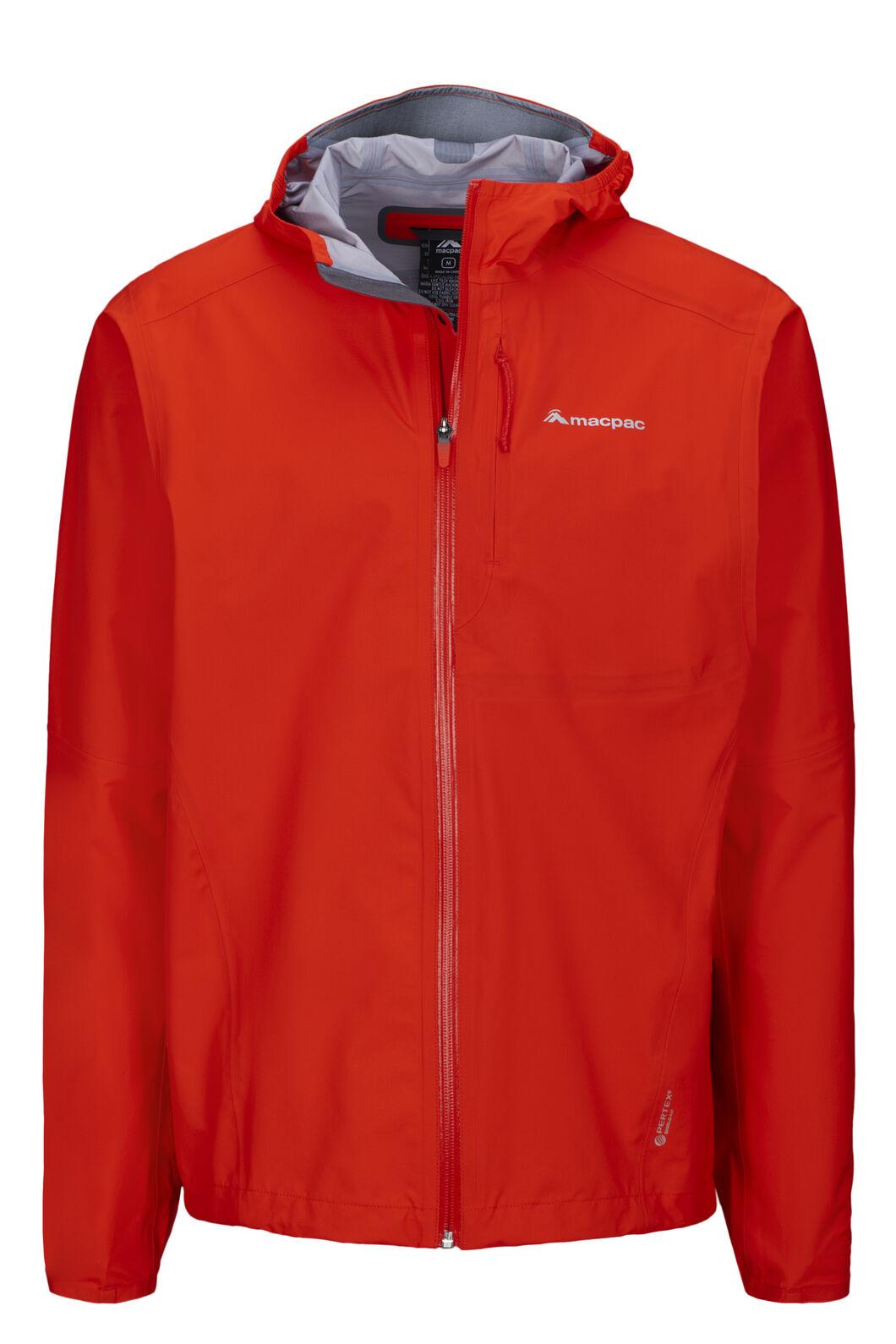 Macpac Men's Tempo Pertex® Rain Jacket, Indicator, hi-res