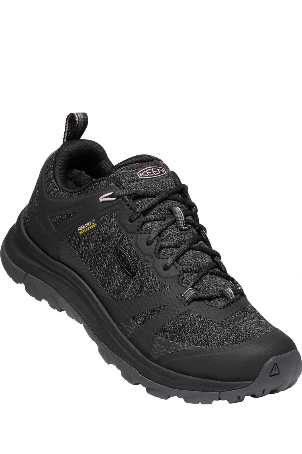 Keen Women's Terradora II Low WP Hiking Shoes, Black Magnet, hi-res