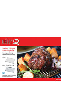 Weber Baby Q Roasting Pack, None, hi-res