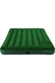 Intex Double Downy Air Bed with Foot Pump, None, hi-res