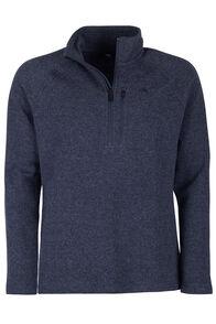 Guyon Half Zip Pullover - Men's, Navy Melange, hi-res