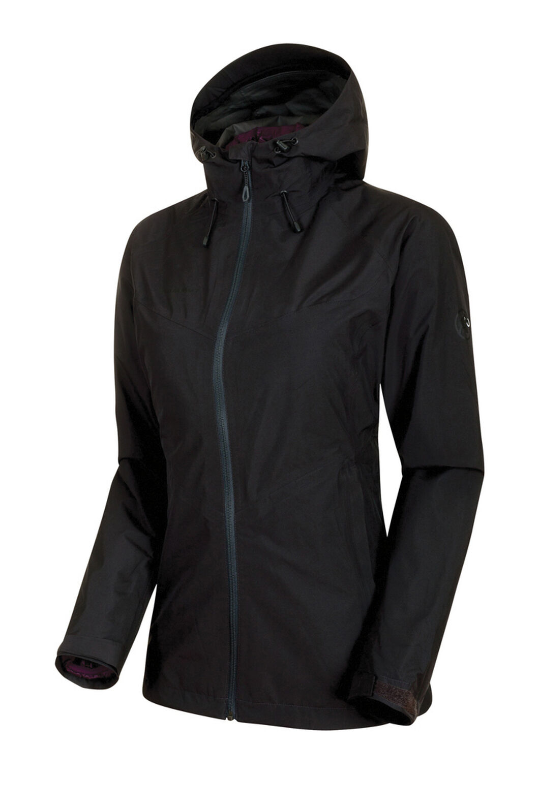 Mammut Convey 3 in 1 Hooded Hardshell Jacket - Women's, Black, hi-res