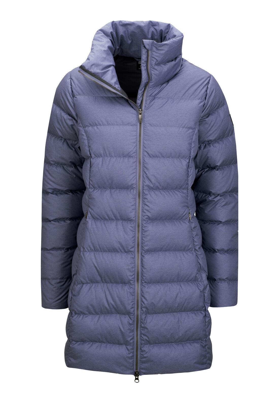 Macpac Women's Demi Down Coat, Blue Granite Melange, hi-res