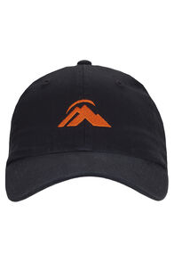 Macpac Vintage Cap, Black/Orange, hi-res