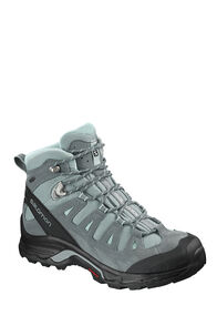 Salomon Quest Prime GTX Mid Boots — Women's, LEAD/STORMY/WEATHER/EGG BLUE, hi-res