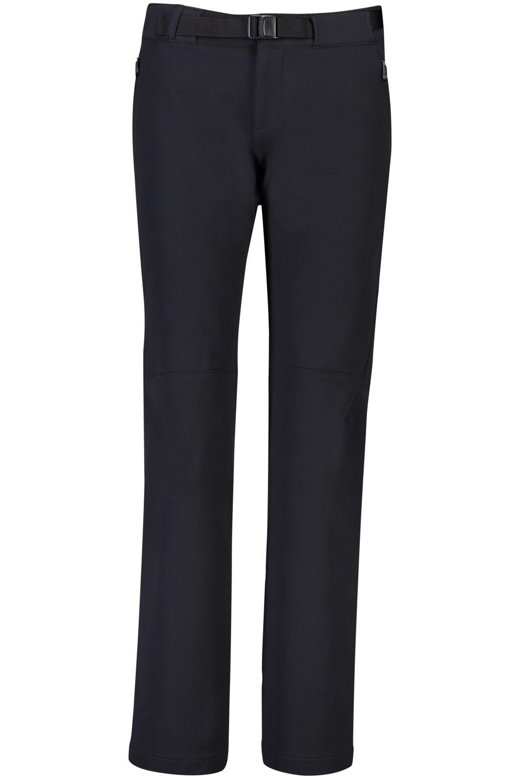 Macpac Nemesis Softshell Pants - Women's, Black, hi-res
