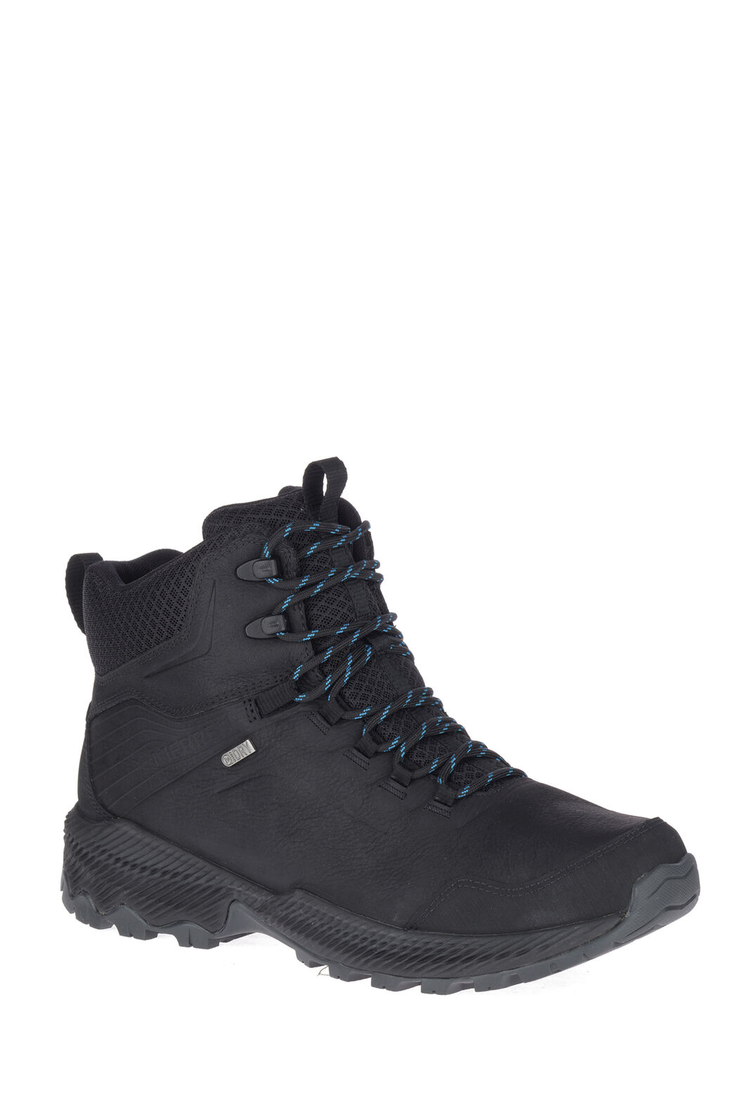 Merrell Men's Forestbound Mid WP Hiking Boots, Black, hi-res
