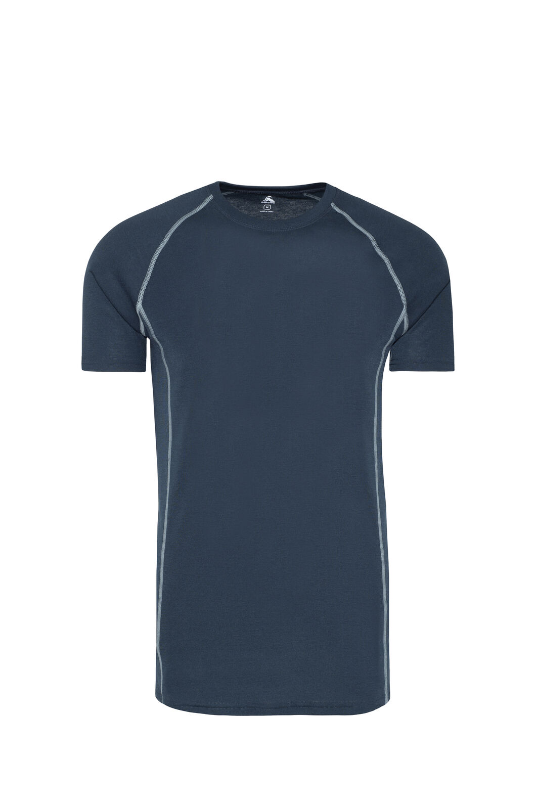 Macpac Geothermal Short Sleeve Top — Men's, Carbon, hi-res