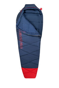 Macpac Aspire 500 Sleeping Bag — Standard, Blue Wing Teal/Salsa, hi-res