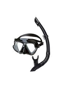 Mares Wahoo Mask and Snorkel Combo, Black, hi-res