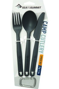Sea to Summit 3 Piece Cutlery Set, None, hi-res