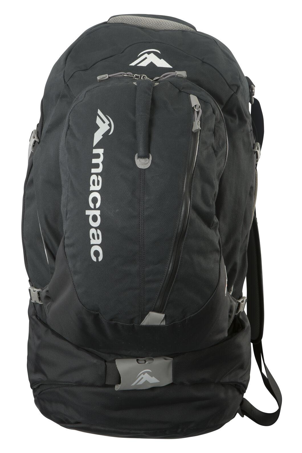 Macpac Gemini AzTec® 75L Travel Pack, Black, hi-res