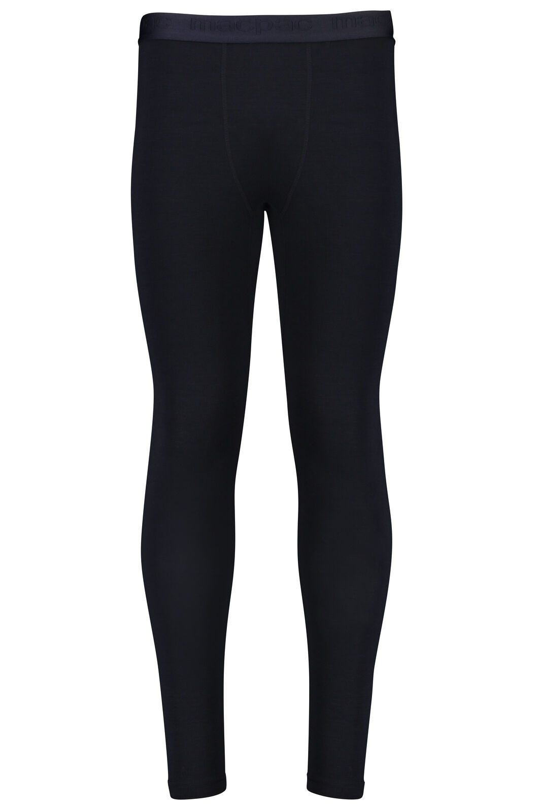 180 Merino Long Johns - Men's, Black, hi-res