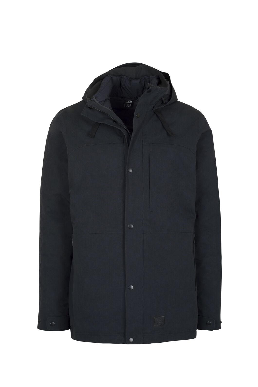 Macpac Element Three-In-One Pertex® Coat - Men's, Black, hi-res