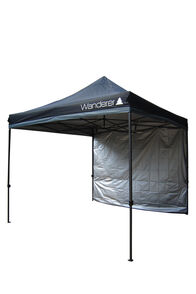 Wanderer Gazebo Solid Wall Kit — 3m, None, hi-res