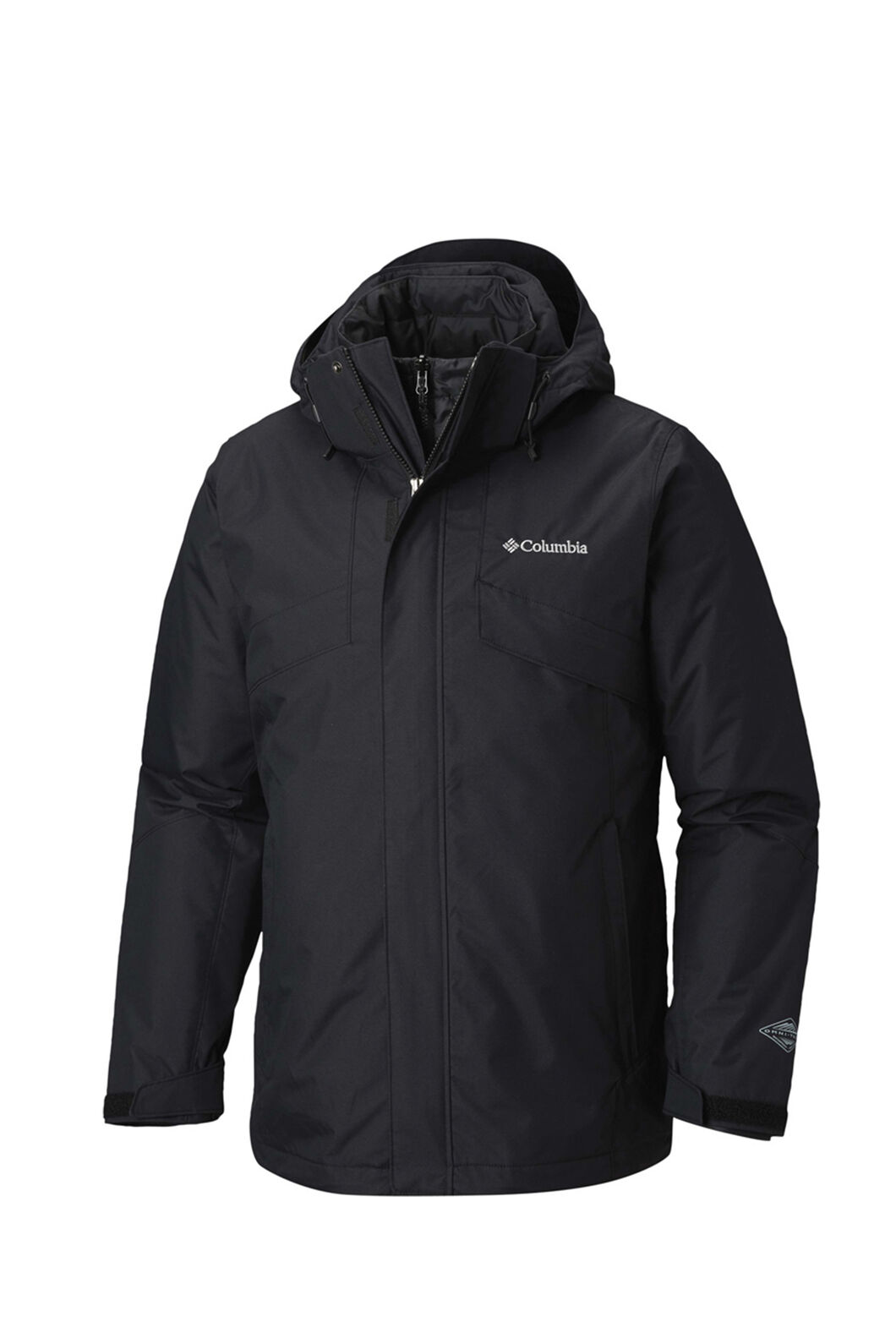 Columbia Men's Bugaboo II Insulated Interchange Jacket, Black, hi-res
