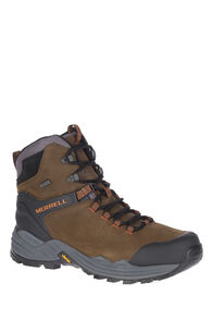 Merrell Phaserbound 2 Tall WP Hiking Boots — Men's, DARK EARTH, hi-res