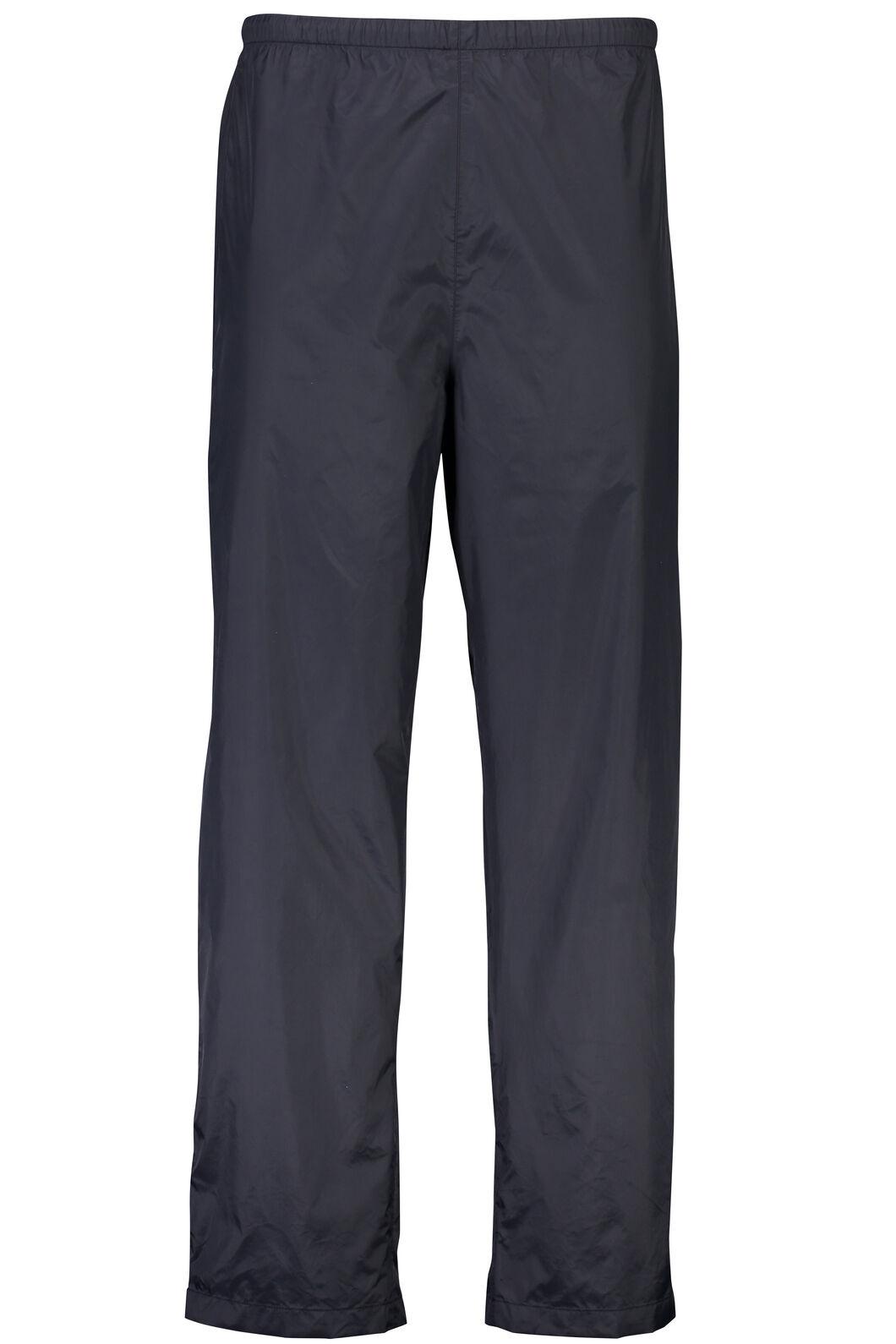 Macpac Pack-It Pants — Unisex, Black, hi-res