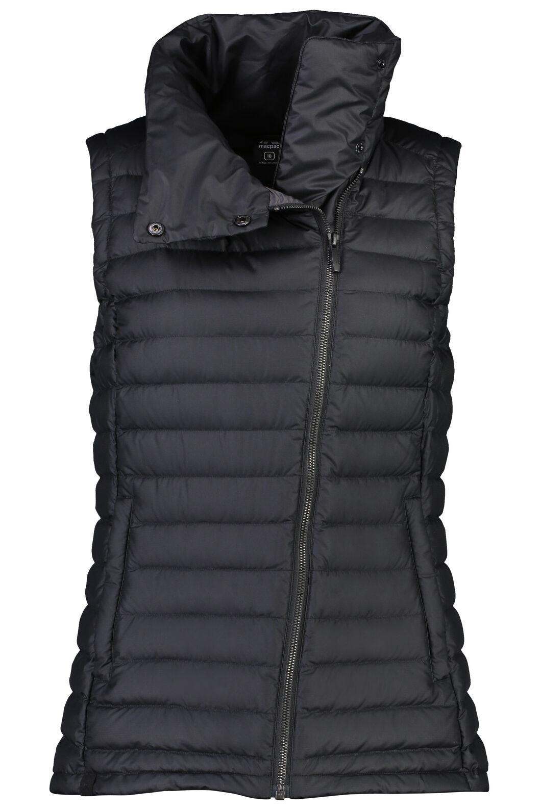 Macpac Demi Down Vest - Women's, Black, hi-res