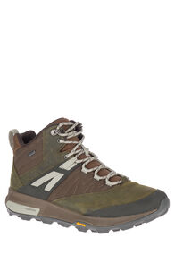 Merrell Zion GTX WP Hiking Boots — Men's, Dark Olive, hi-res