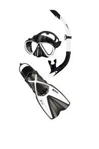 Mares Bonito/X-One Snorkelling Set, White/Black, hi-res
