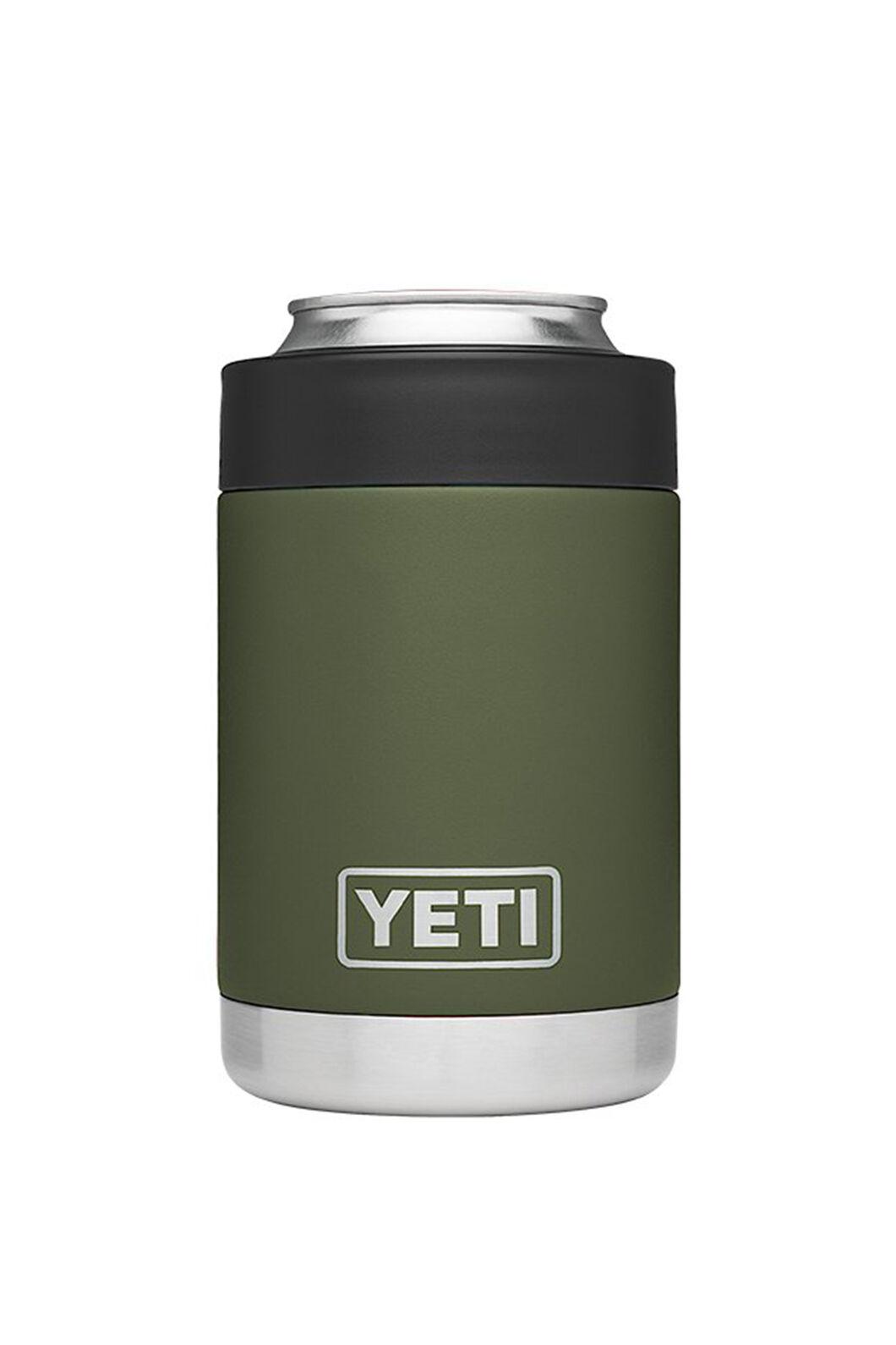 YETI® Rambler Colster Stubby Holder — 12oz, Highlands Olive, hi-res