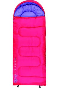 Wanderer Kids' MiniFlame Hooded Sleeping Bag 0, None, hi-res