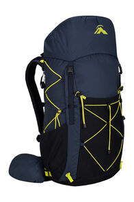 Macpac Fiord 1.1 40L Hiking Pack, Black Iris, hi-res