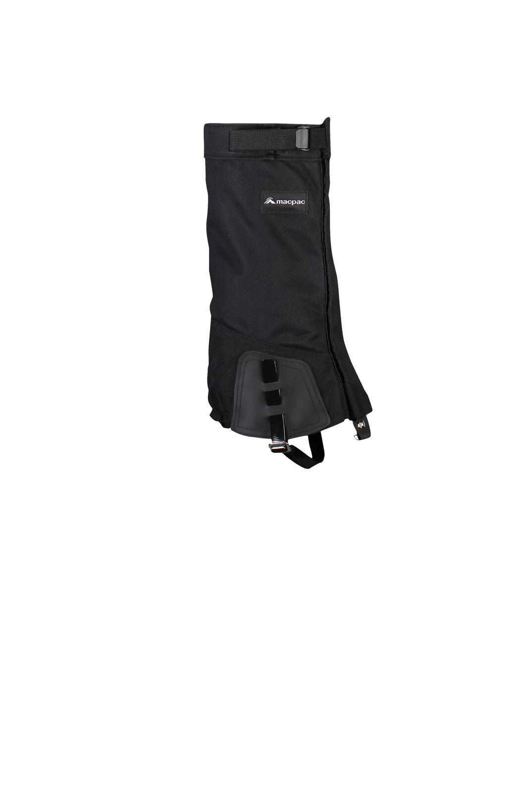 Macpac Cascade Gaiters V2, Black, hi-res