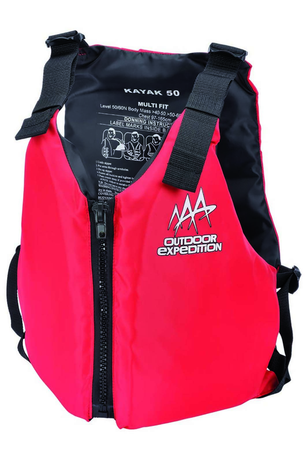 Marlin Australia Multi Fit 40-70kg PFD 50, None, hi-res