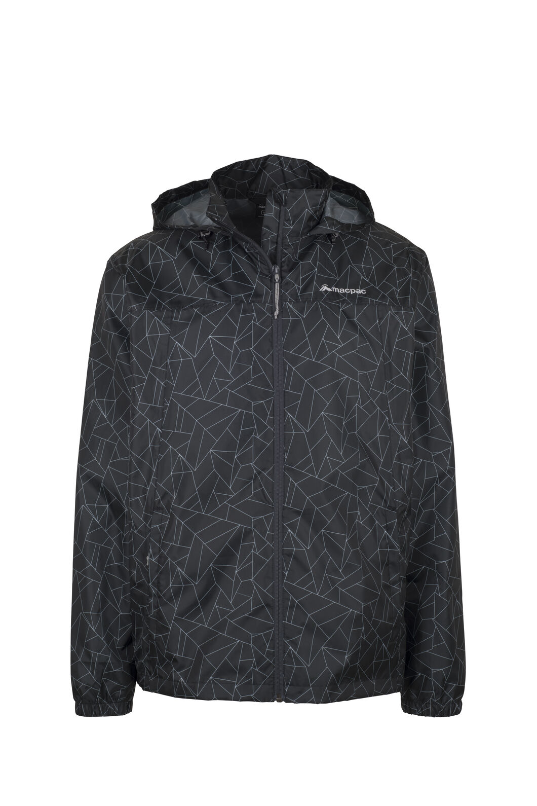 Macpac Pack-It-Jacket - Unisex, Black Geo Print, hi-res