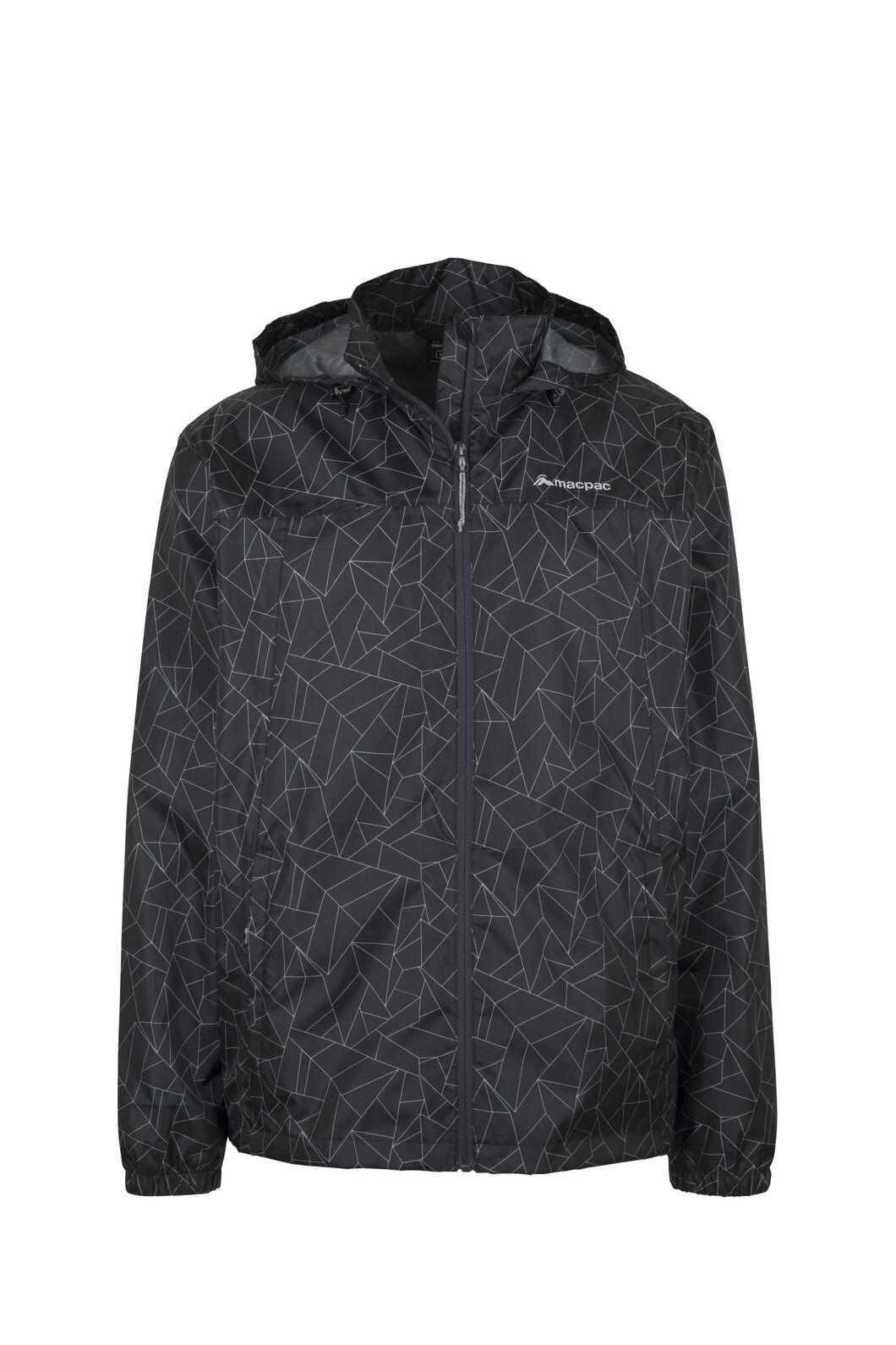 Macpac Pack-It-Jacket - Unisex, Black Geo Print, hi-res