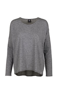 Macpac Eva Long Sleeve Tee — Women's, Anthracite, hi-res
