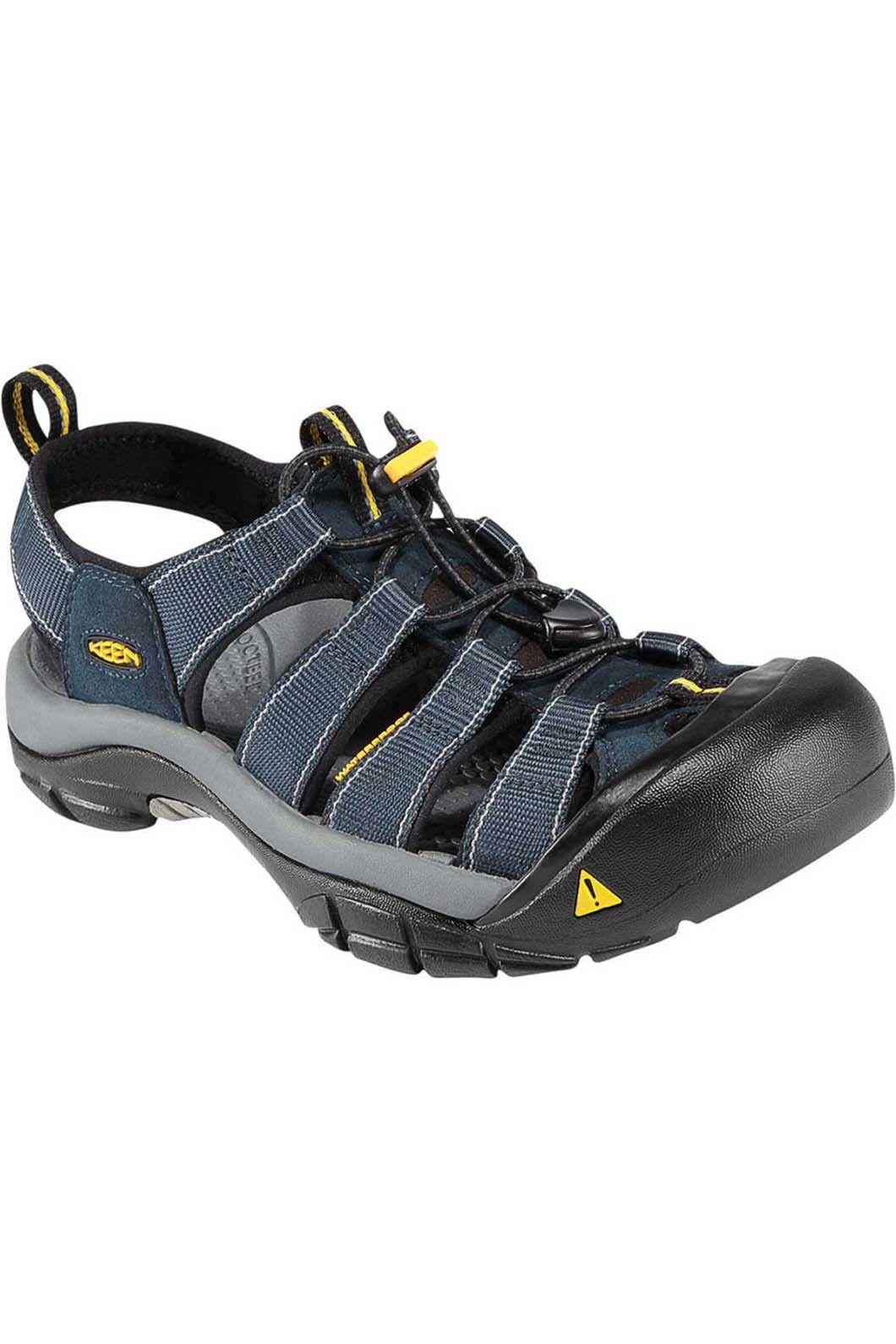 Keen Newport H2 Sandals — Men's, Navy/Medium Grey, hi-res