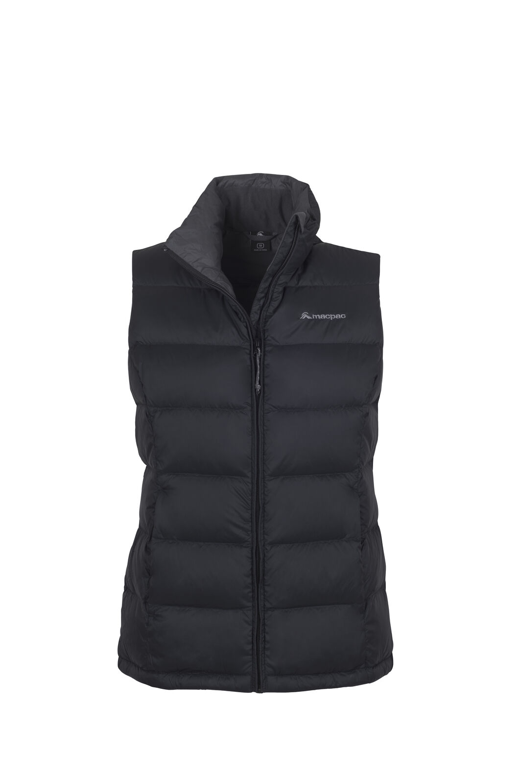 Macpac Halo Down Vest — Women's, Black, hi-res