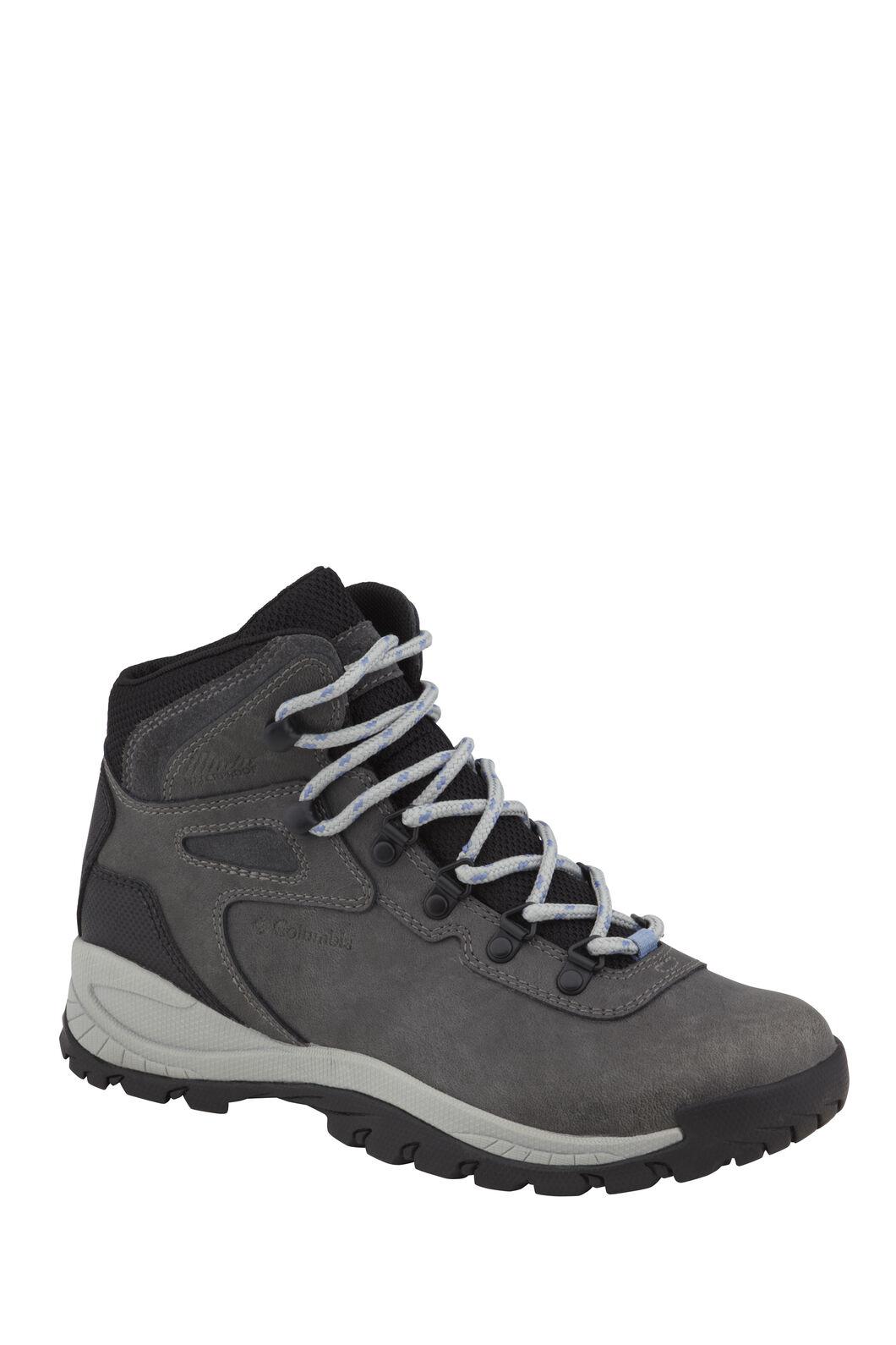 Columbia Women's Newton Ridge Plus Hiking Boots QuarryCool Wave, QUARRY/COOL WAVE, hi-res