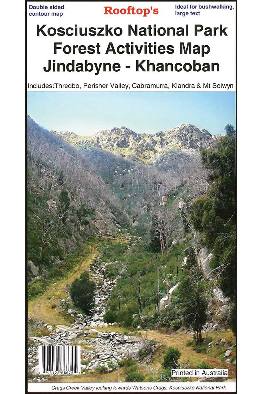 Hema Kosciuszko Forest National Park Map, None, hi-res