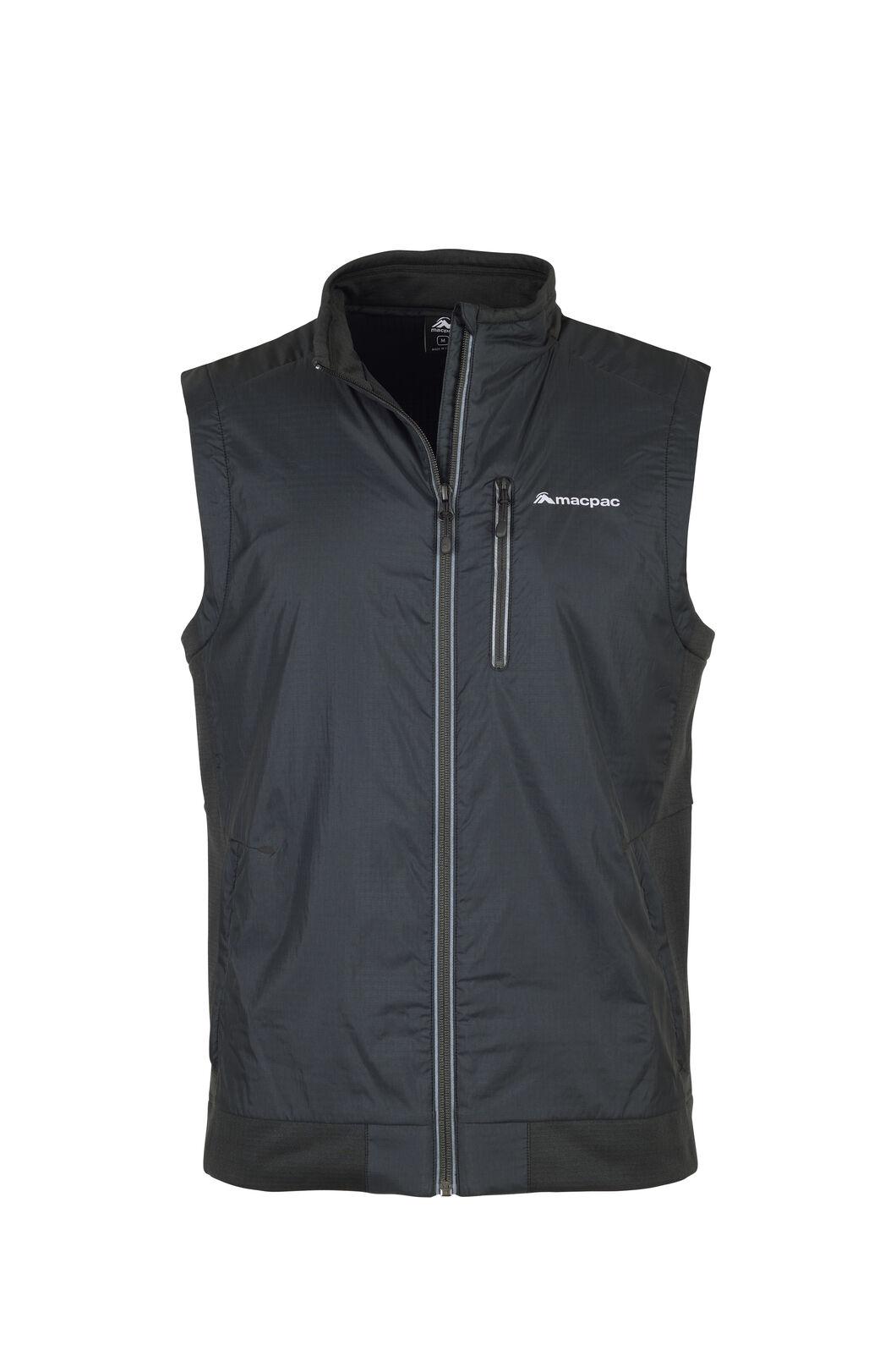 Macpac Saros Polartec® Alpha® Vest - Men's, Black, hi-res