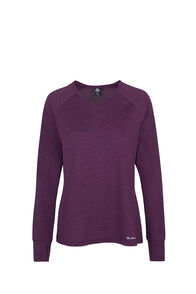 Macpac Take a Hike Long Sleeve Tee - Women's, Potent Purple, hi-res