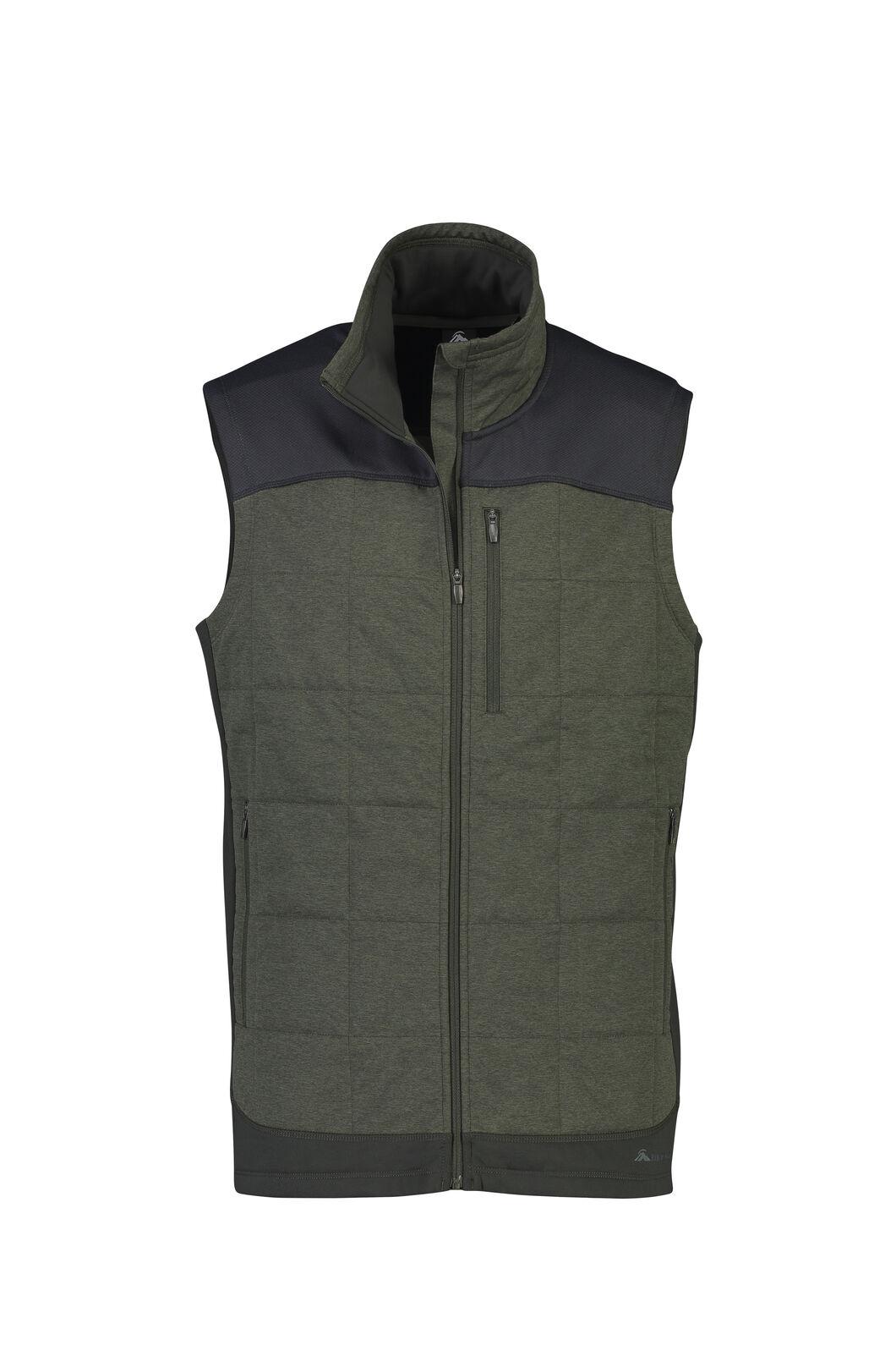 Macpac Accelerate PrimaLoft® Fleece Vest — Men's, Peat, hi-res