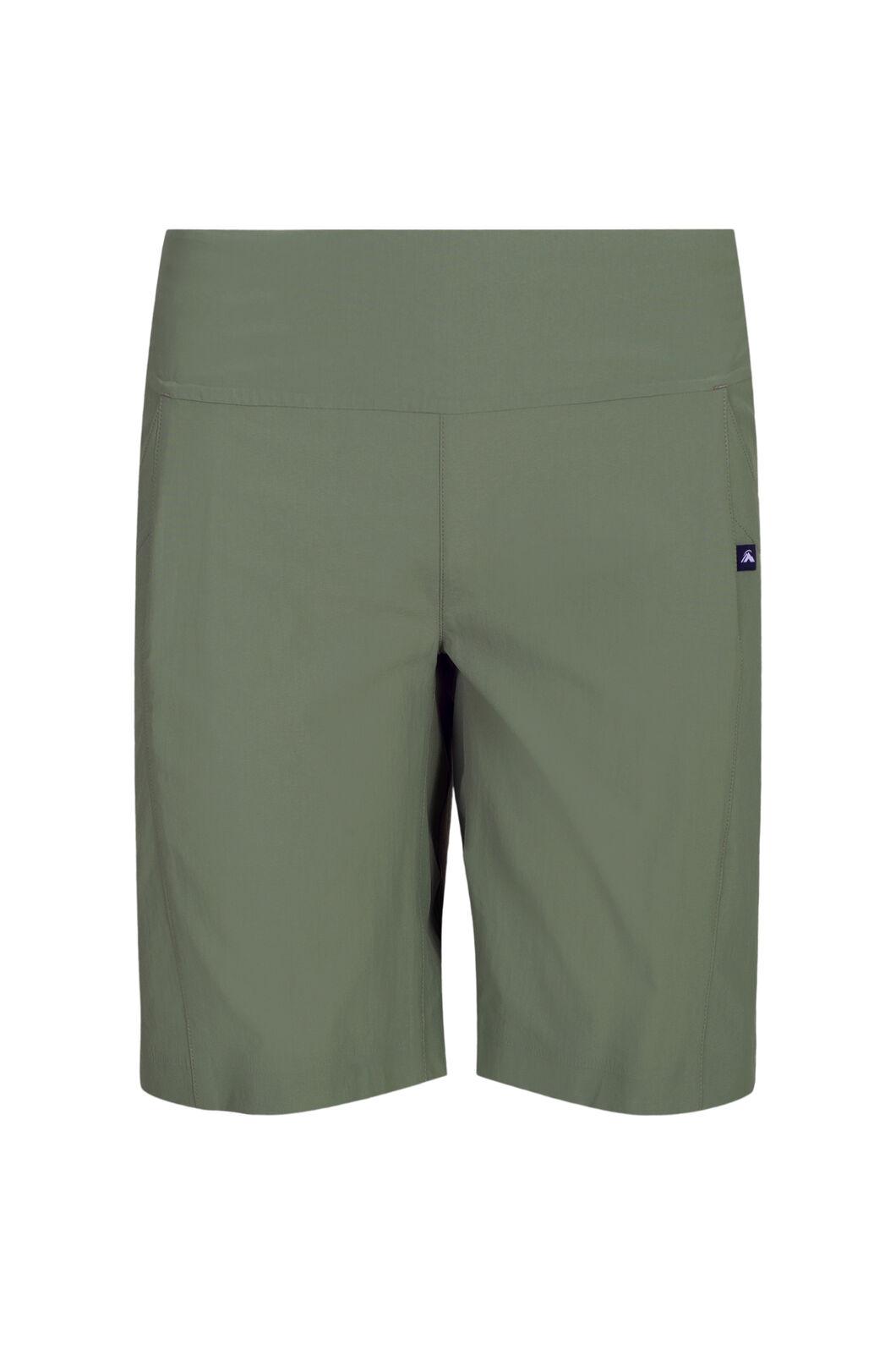 Macpac Boulder Shorts — Women's, Deep Lichen Green, hi-res