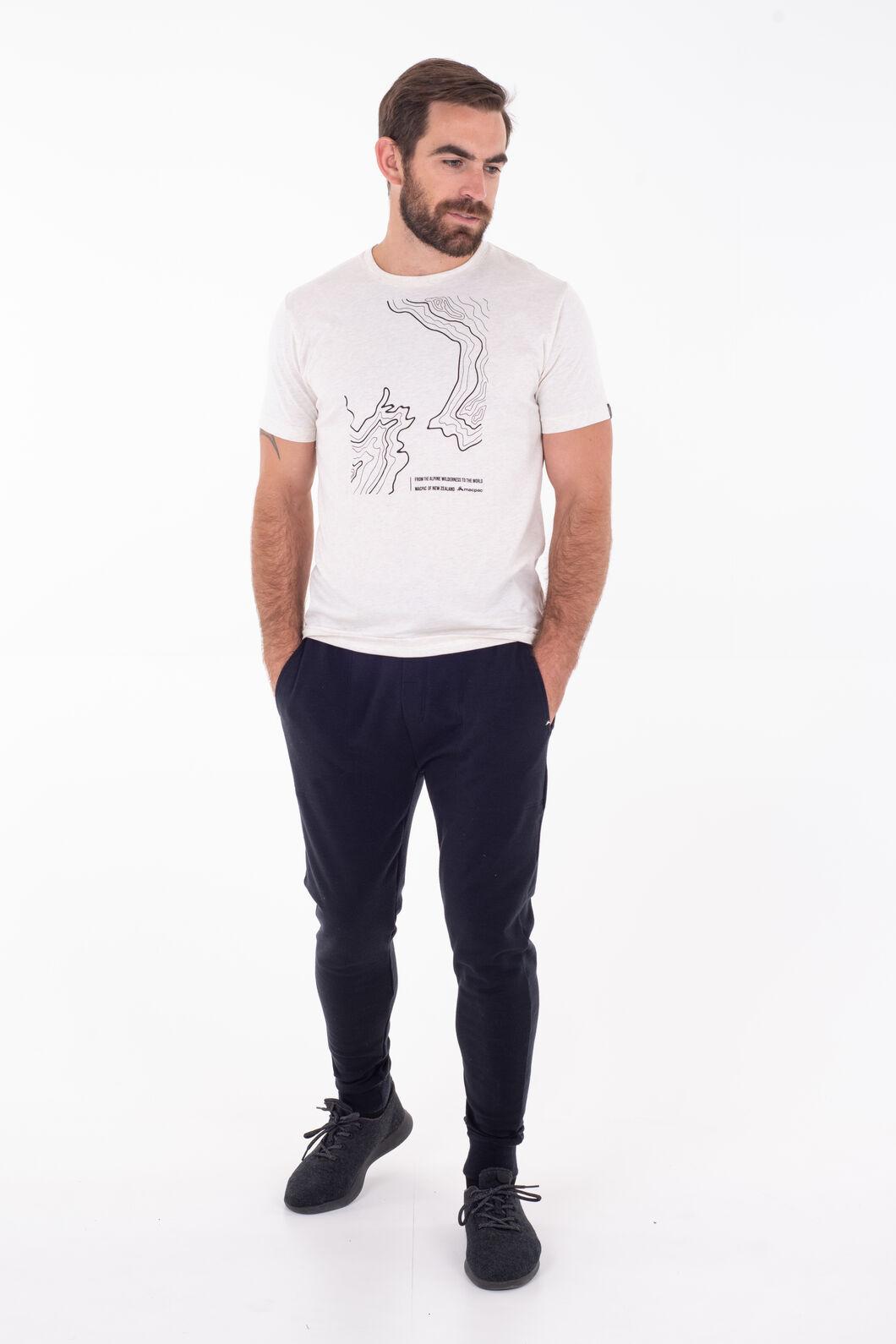 Macpac Merino Blend Track Pants - Men's, Black, hi-res