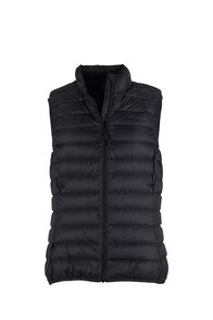 Macpac Uber Light Down Vest - Women's, Black, hi-res