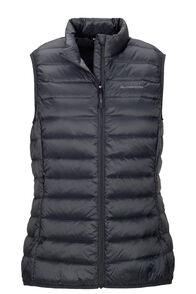 Macpac Women's Uber Light Down Vest, Black, hi-res