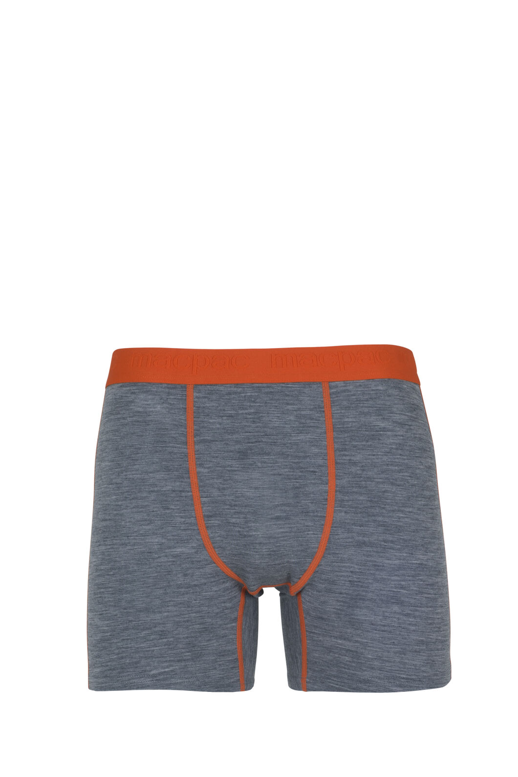 Macpac 180 Merino Boxers - Men's, Grey Malre/Puffins Bill, hi-res