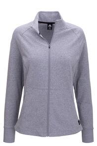 Macpac Women's Rhythm Fleece Jacket, Grey Marle, hi-res