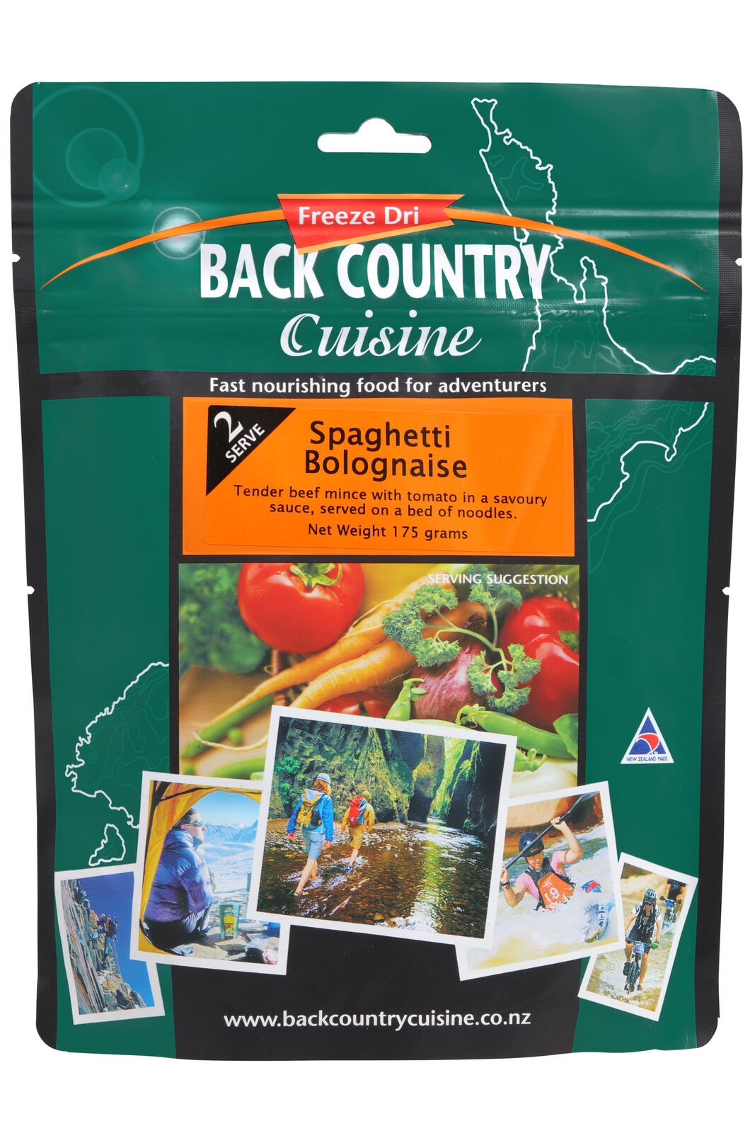 Back Country Spaghetti Bolognaise - 2 Serves, None, hi-res