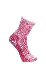 Macpac Kids' Winter Hiking Sock, Red, hi-res