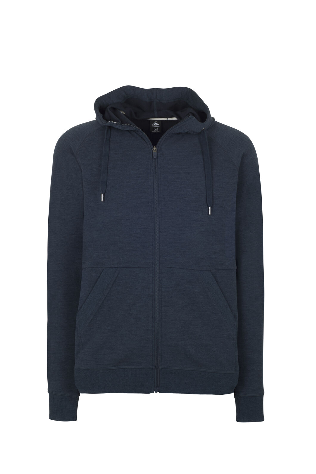 Macpac Escape Merino Hoody - Men's, Carbon Marle, hi-res