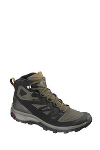 Salomon Outline GTX Hiking Boots - Men's, Blk/Beluga/Capers, hi-res